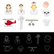 Medical Emergency Icons