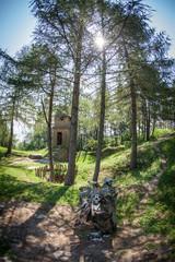 Celtic shrine at Havranok - Slovakia