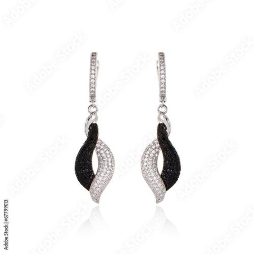 Silver earrings - 67799013