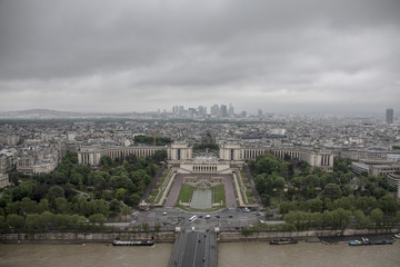 Paris bird's eye