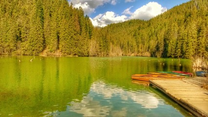 Red lake, bistrita romania