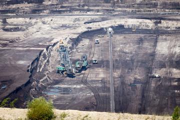 Surface coal mining