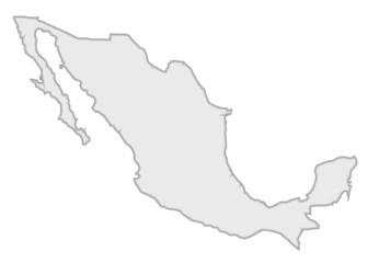 gri meksika haritası tasarımı