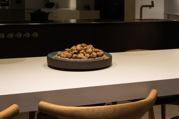 Kitchen Counter with Walnuts (1)