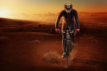 Desert cyclist