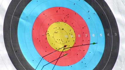 HD - Archery in target