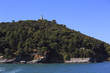 island of tino in the gulf of la spezia