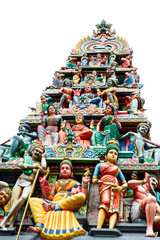 oldest hindu temple Sri Mariamman in Singapore