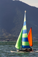 Sailing in Ilhabela - Brazil
