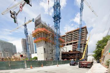 Brickell City Center construction site