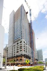 Miami highrise construction