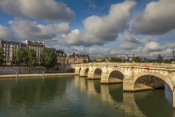 River Seine in Paris France