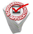Scholarship Applications College Financial Support Paperwork Sta