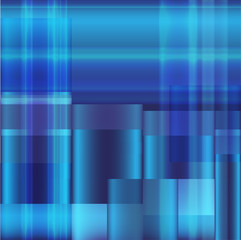 Blue Metallic Grid Dot Background Vector Illustration