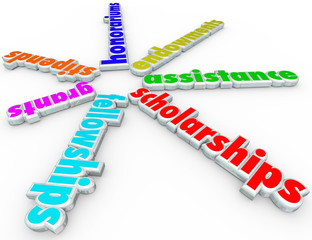 Scholarships Grants Financial Aid Support College Help Assistanc
