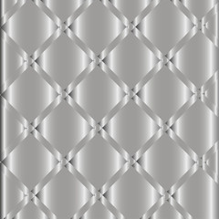Luxury Metallic Silver Background Vector