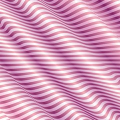 Light Pink Background With Abstract Wave Vector