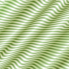 Light Green Wave Background Vector
