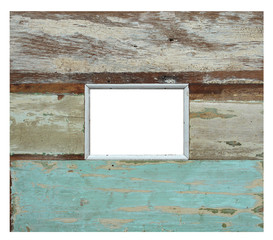 old wood fhoto frame