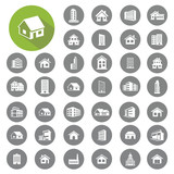 Home and building icons set. Illustration eps10 - 67811695