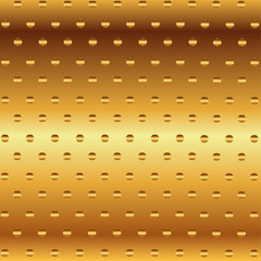 Vector Metallic Gold Decorative Background