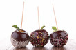canvas print picture - chocolate apples