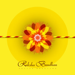 Vector beautiful rakhi background on rakshabandhan background