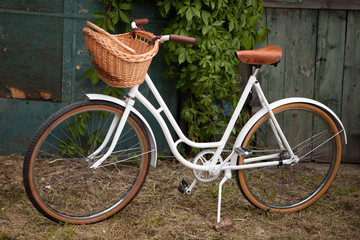 Retro vintage lady bicycle
