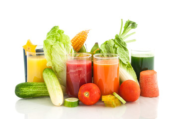 Fruit juice and vegetable