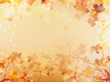 Autumnal Background with maple leaves. EPS 10