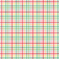 Plaid textured Fabric Background