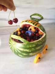 meyve salatası tasarımı