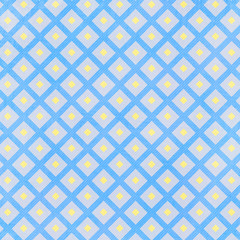 Colorful fabric  diamond seamless pattern background