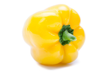 yellow bell pepper or capsicum