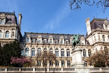 City Hall in Paris, France