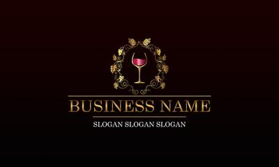 Logo vignoble - vin L