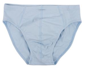 Male underwear isolated on white background.