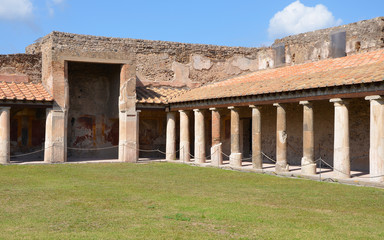 Stabian baths (Terme Stabiane) in Pompeii