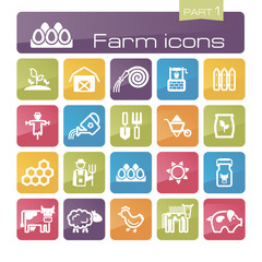 Farm icons part 1