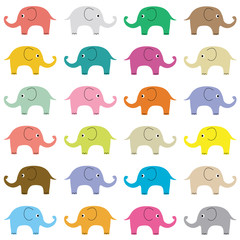 Elephants background6