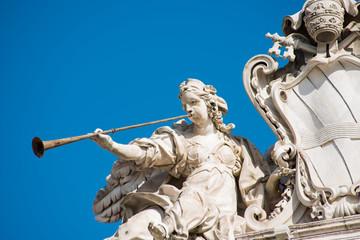 Quirinal Square statue