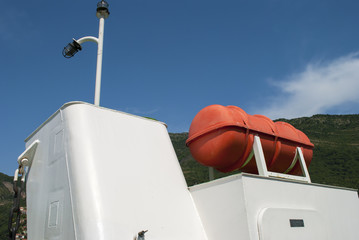 Water Tank on Ferry