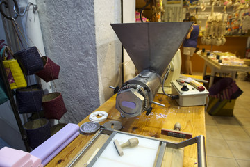 Equipment for soap production  in shop