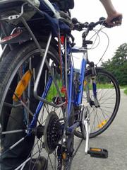 Gros plan sur bicyclette vélo