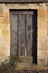Old Cotswold door