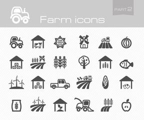 Farm icons part 2