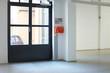 Leinwanddruck Bild - Loft Eingang