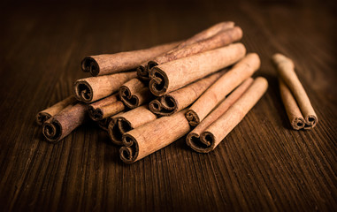 cinnamon sticks close-up