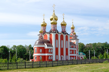 Temple  new martyrs and confessors russian, Cheboksary.