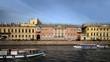 travel on canals of St. Petersburg Film Tilt